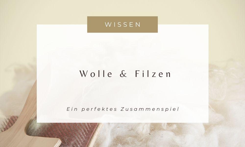 Wolle und Filzen